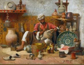 Het atelier van de pottenbakker